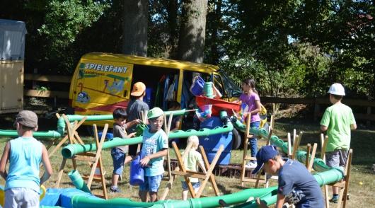 Sommerferienprogramm und Spielefant