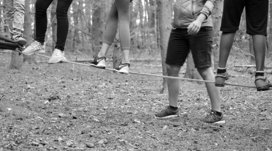 Spiel, Spaß, Konzentration, Übung & Seil