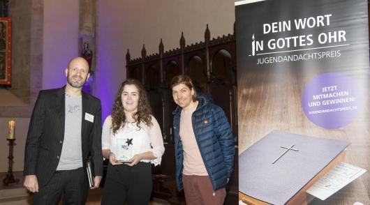 Laura & Malte bei Andachtspreis ausgezeichnet